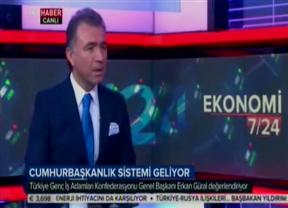 TRT Haber -Konuk: TÜGİK Başkanı Erkan Güral