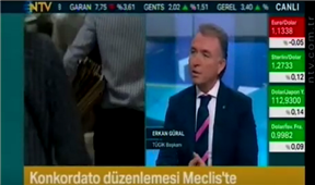 TÜGİK Genel Başkanı Sn. Erkan Güral - NTV- Piyasa Ekranı